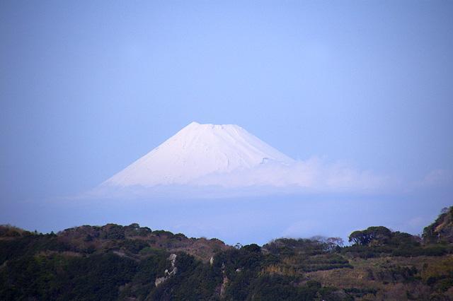 雲の上の富士山