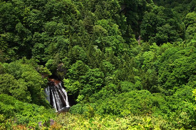 横谷峡の王滝