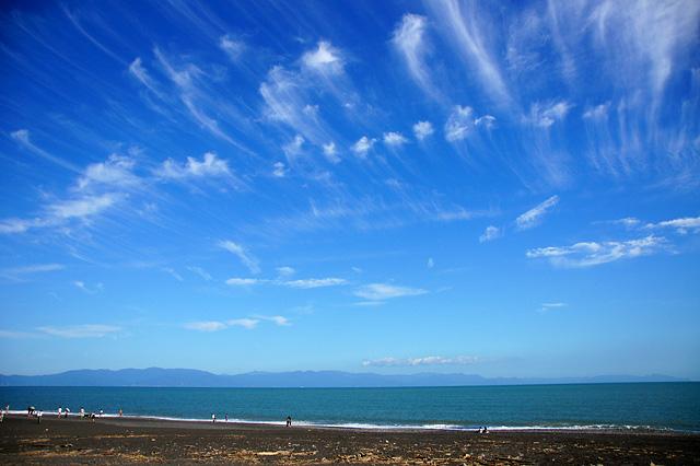 美しい空と海の写真素材 フリー