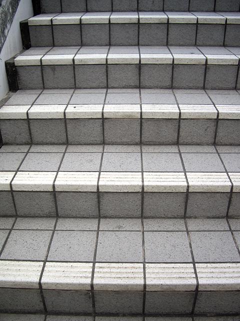 歩道の階段