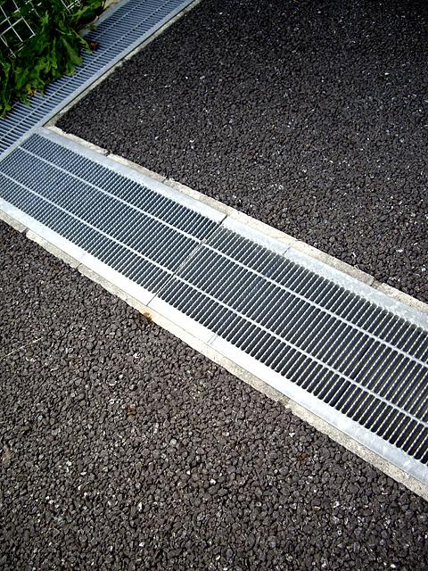 雨水の排水設備