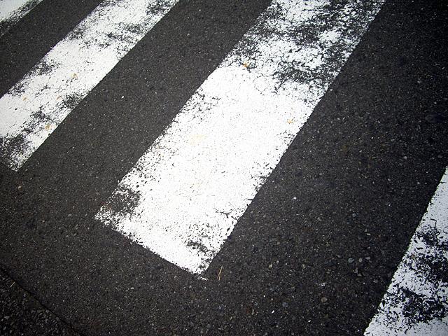 横断歩道の写真素材 フリー