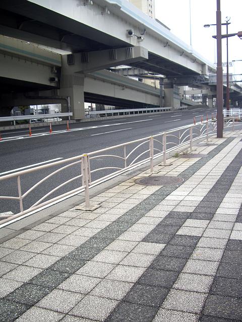 車道と歩道