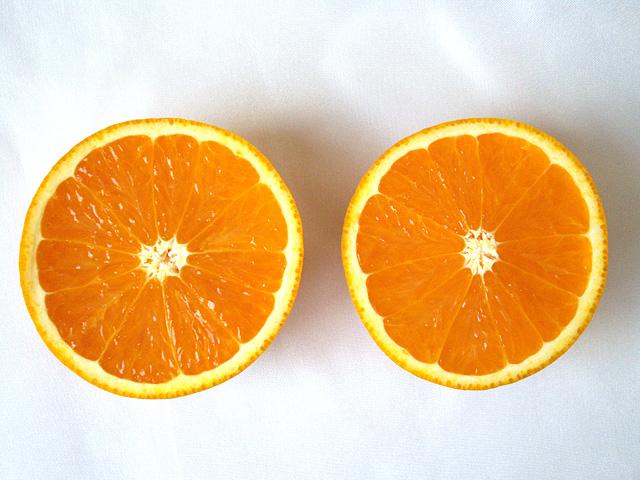 ふたつのオレンジ