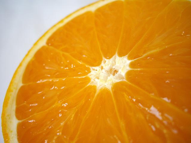 オレンジの断面の写真素材 フリー