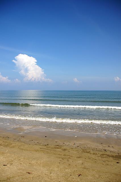 夏の海の無料写真素材