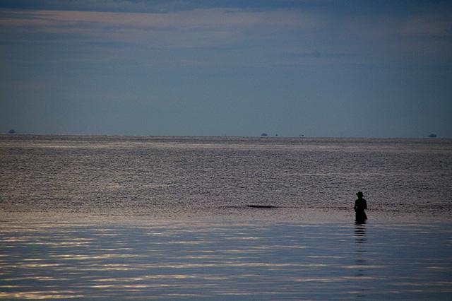 釣り人の写真素材 フリー