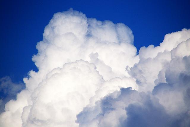 入道雲の写真素材 フリー