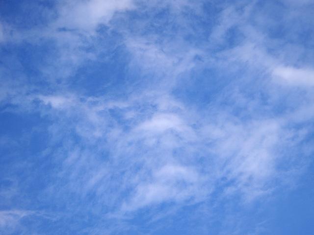 ひつじ雲の写真素材 フリー