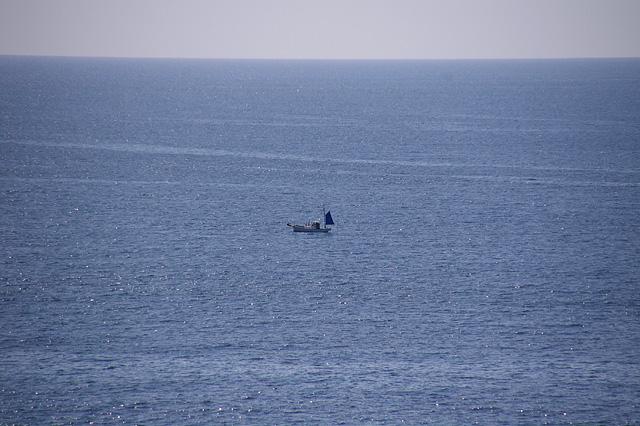 一艘の船の写真素材 フリー