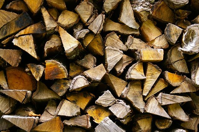 焚き木の無料写真素材