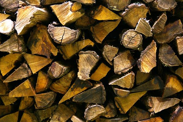 焚き木の写真素材 フリー
