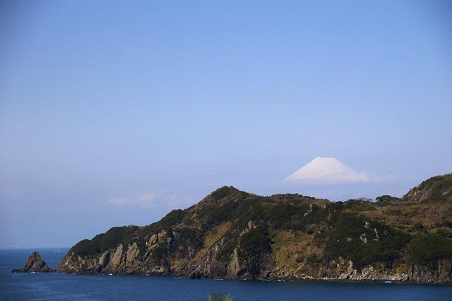 半島の向こうにの写真素材 フリー