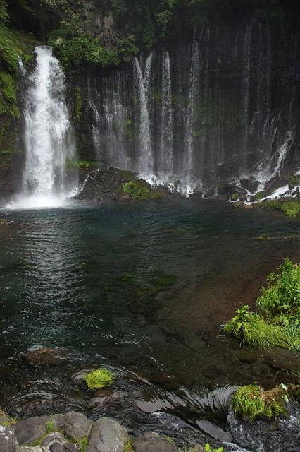 白糸の滝の滝壺