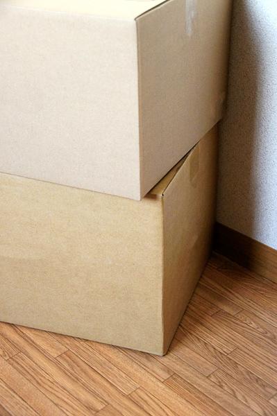 二個のボックスの無料写真素材