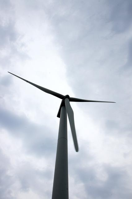 風力発電の無料写真素材