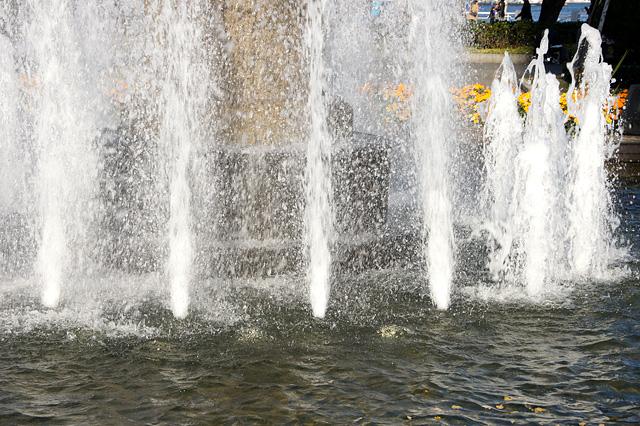 噴水の写真素材 フリー