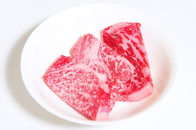 霜降り牛肉の無料写真素材
