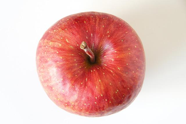 上から見た林檎の写真素材 フリー