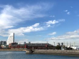 横浜赤レンガ倉庫の写真のフリー素材