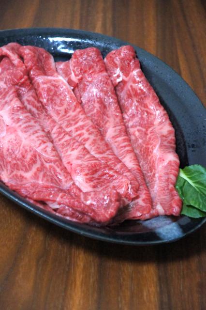 生の牛肉の写真のフリー素材