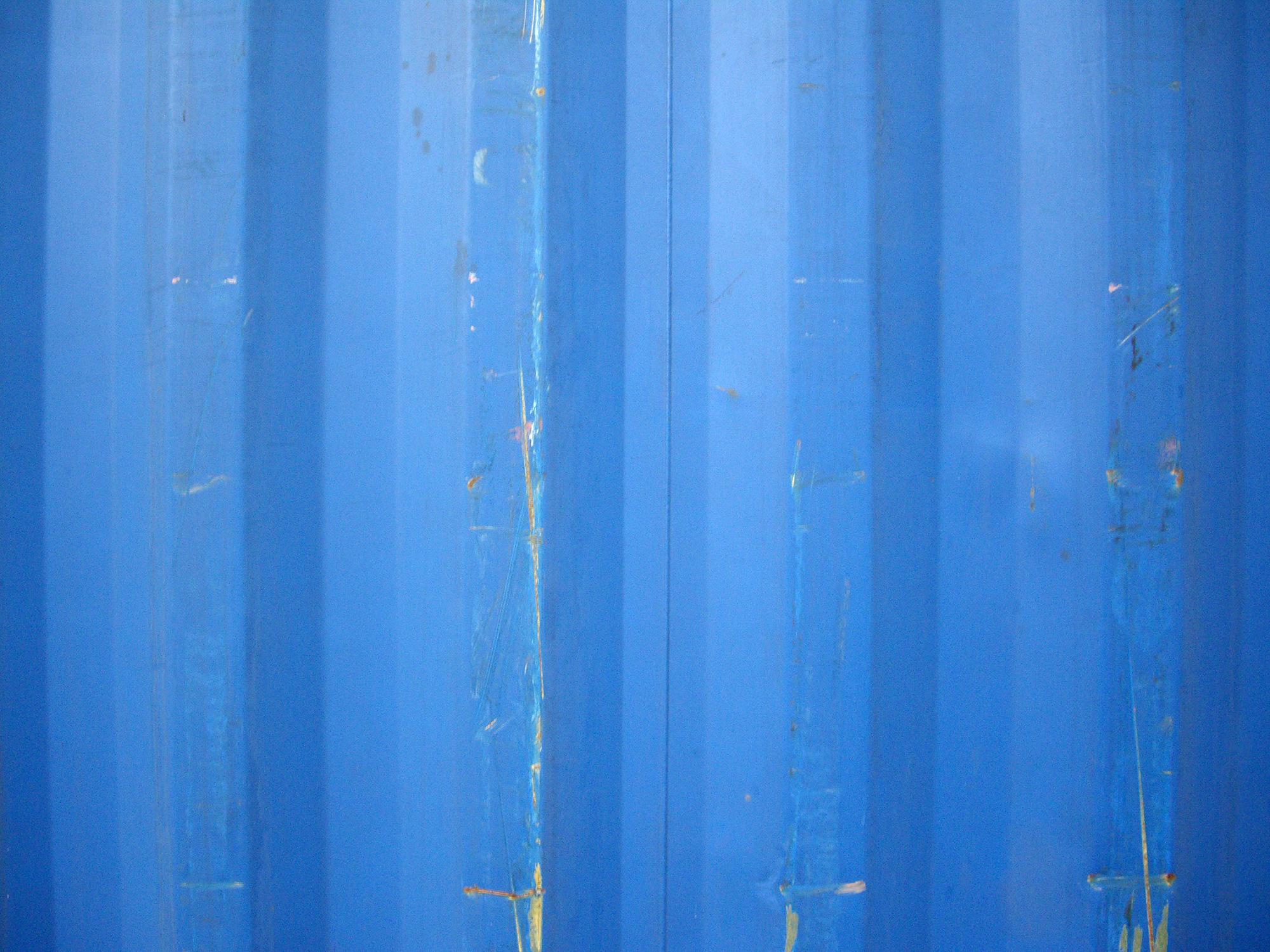 青い壁の写真のフリー素材