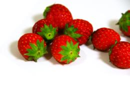 苺の無料写真素材