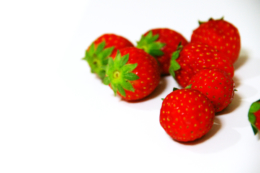 イチゴの無料写真素材