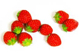 イチゴの仲間たちの無料写真素材