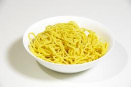 ラーメンの麺のフリー写真素材