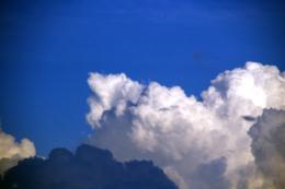 入道雲のフリー写真素材