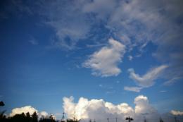 広い空の写真素材(無料)