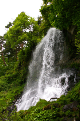 蓼科の乙女滝