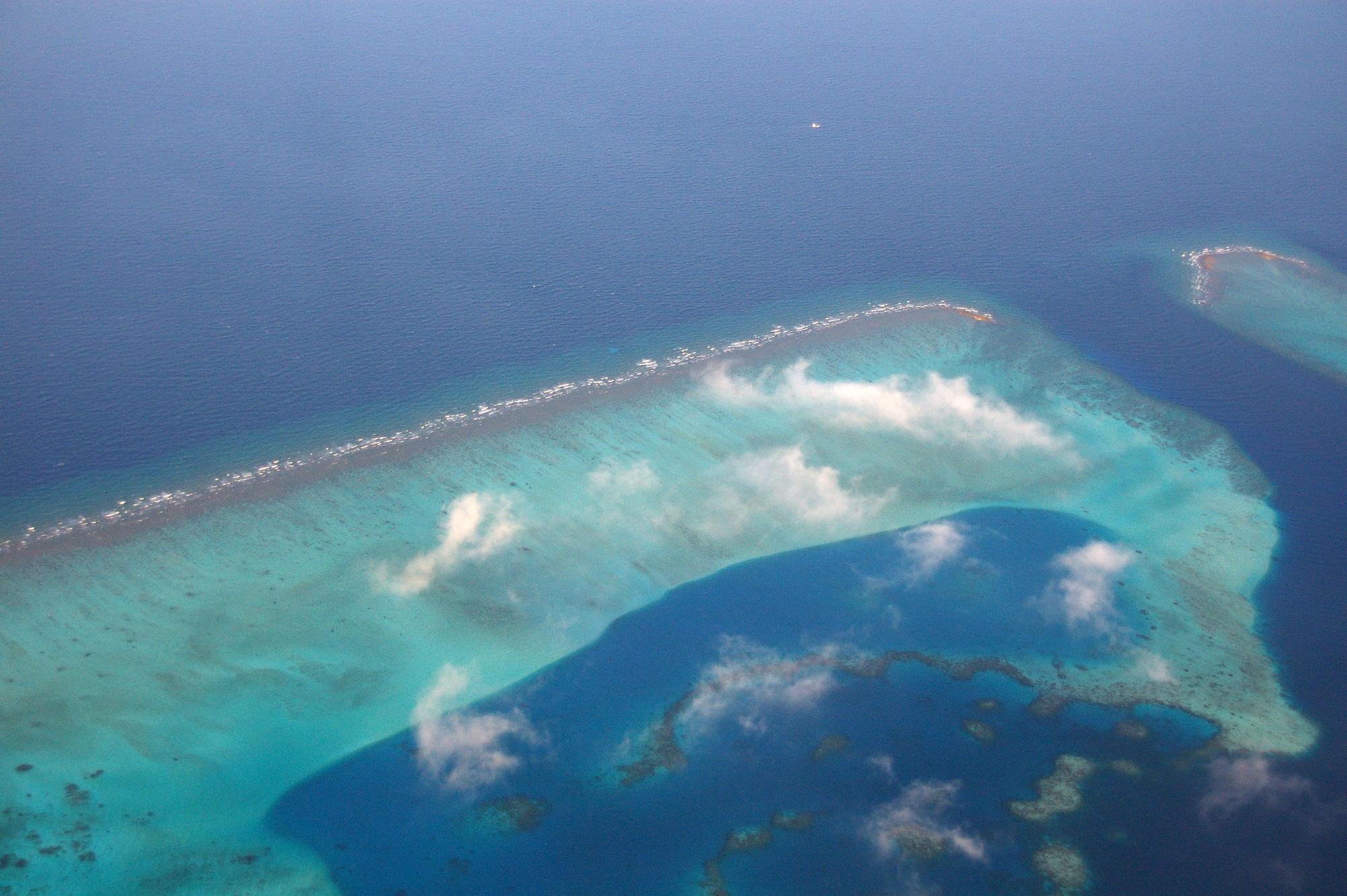 環礁の写真のフリー素材