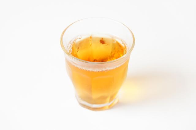 冷たいお茶のフリー写真素材