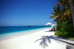 リゾートのビーチのフリー素材