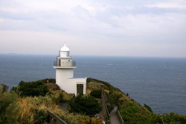 石廊崎灯台のフリー写真素材