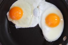 フライパンの卵