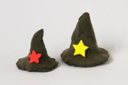 粘土の魔法使いの帽子