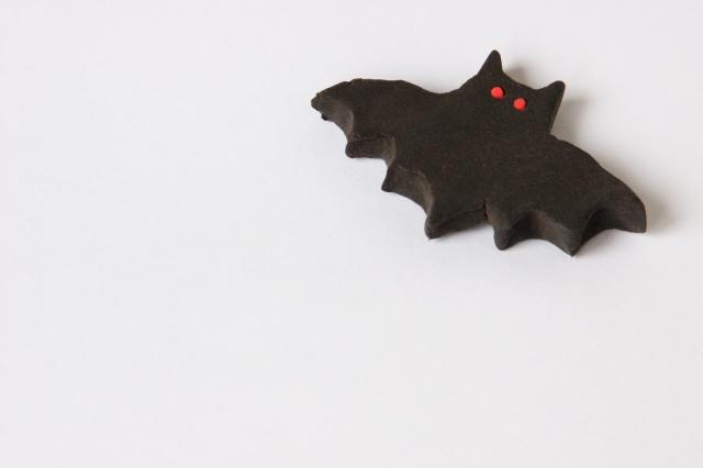 粘土のコウモリ