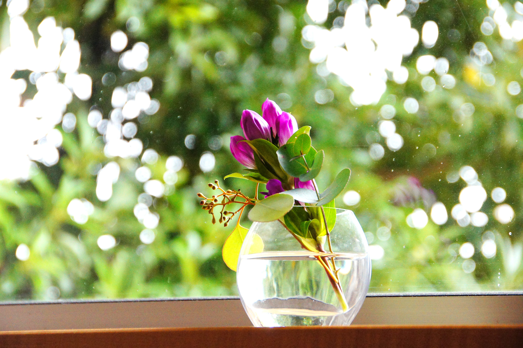 りんどうの花