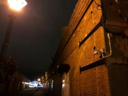 函館の赤レンガ倉庫群の夜