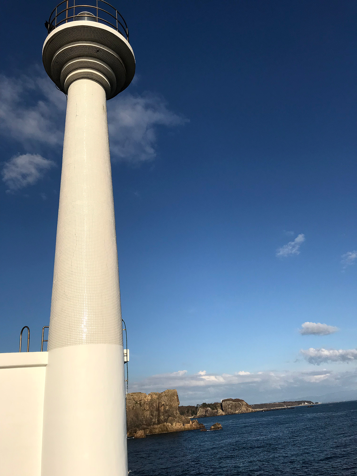 潮瀬崎灯台のフリーの画像素材