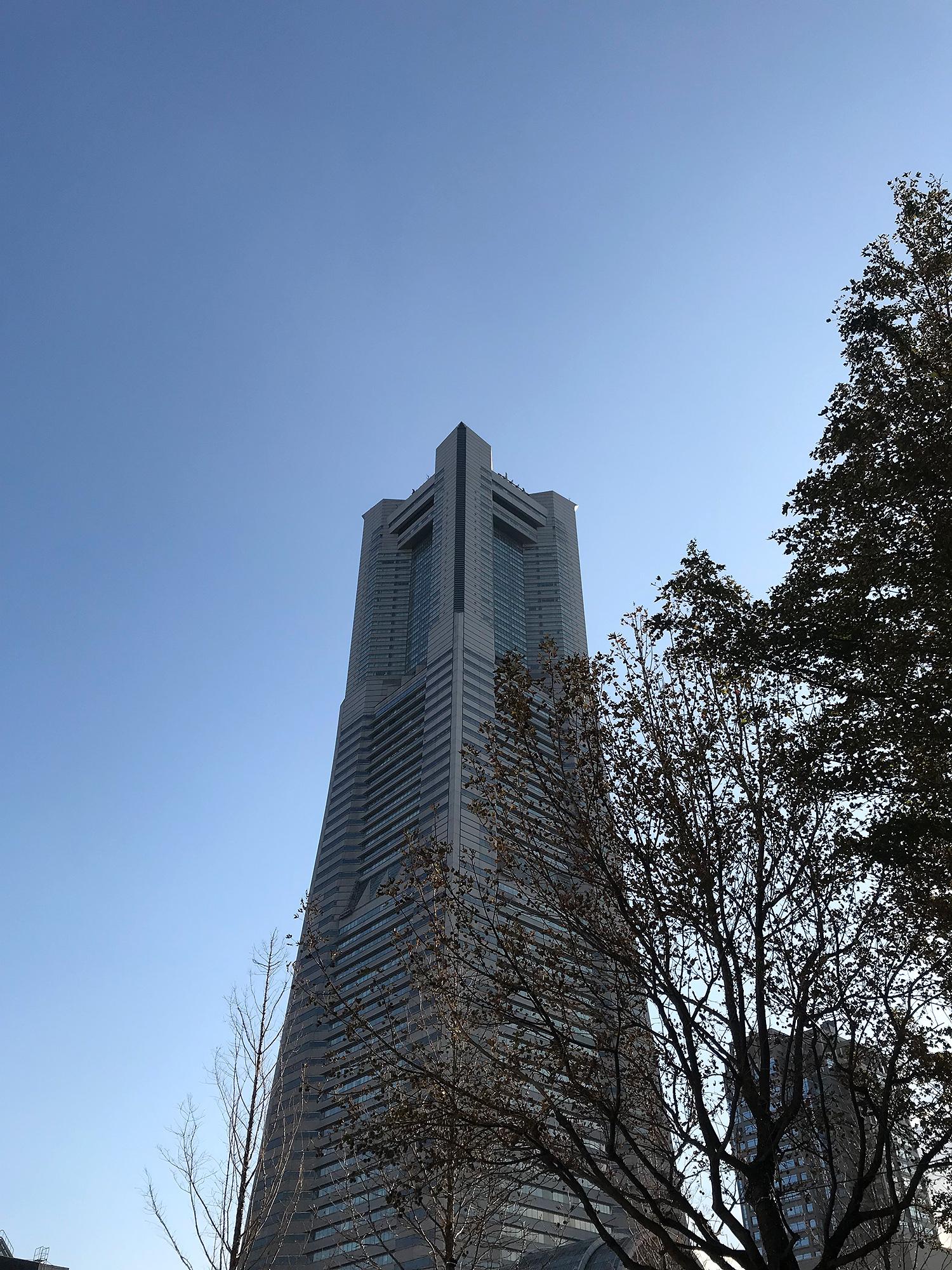 ランドマークタワーのフリーの画像素材