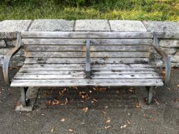 ベンチの無料写真素材