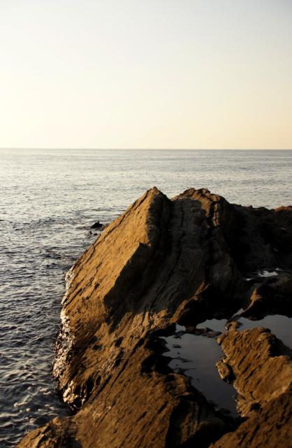 城ヶ島の岩場
