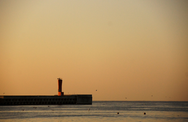 城ヶ島の防波堤