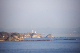 城ヶ島から見た海のフリー写真素材