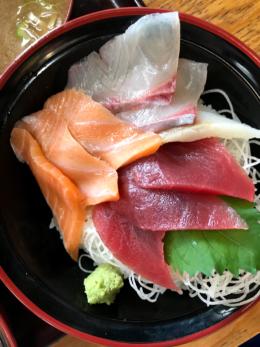 海鮮丼の無料写真素材