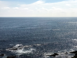 青い海と水平線